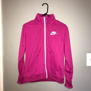 NEW Pink Nike Collared Jacket